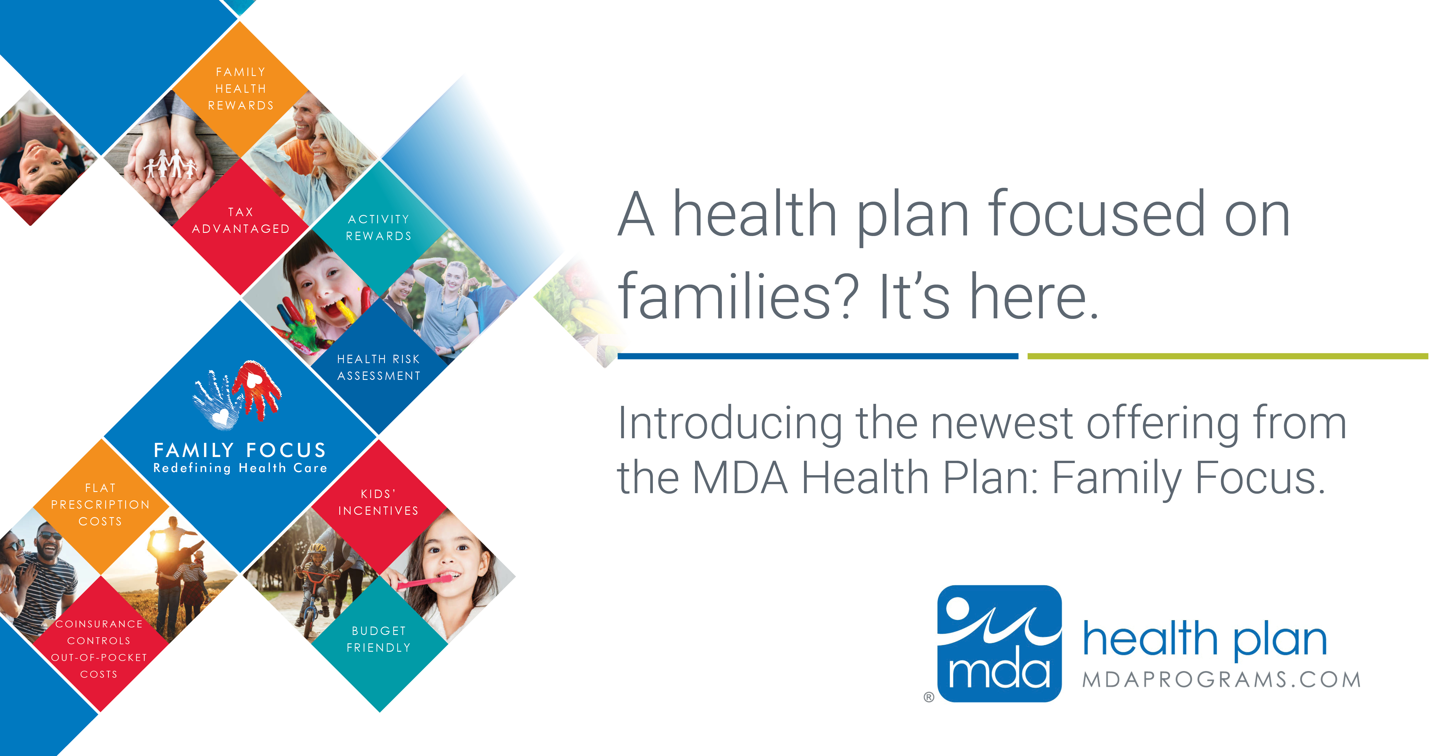 A health plan focused on families? It's here