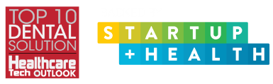 Award Badge for Top 10 Dental Solution in Healthcare Technology Logo of StartUp Health accelerator