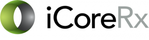 Logo for iCoreConnect iCoreRx cloud electronic prescribing software for dental and medical